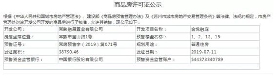 22666元/㎡起丨 金悦融庭一期房源认筹即将盛启 文化片区或将摇号?