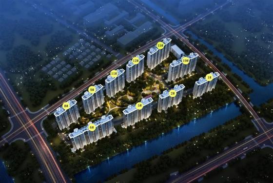 金悦融庭一期1、2、12、15号楼在售中 户型有约125㎡-142㎡房源可选