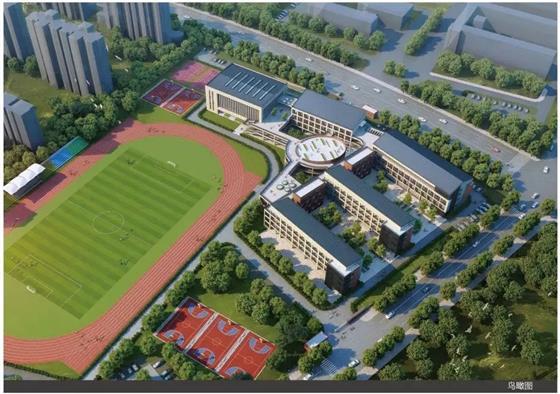 这所中学终于动工 预计后年投入使用丨城北利好不断学校、医院、高铁相继落成