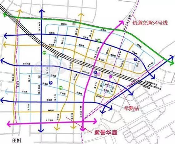 有城铁 有地铁 抢滩紫誉华庭超前景双铁盘