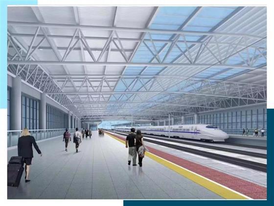 饱眼福!常熟火车站最新效果图发布!