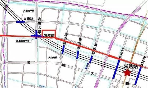 """城铁片区这两段路,""""十一""""前要开通哉"""