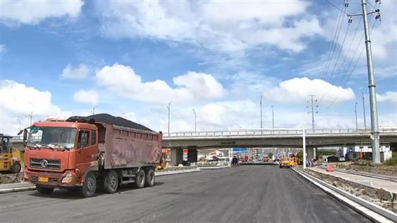常昆线10月亮相一级公路标准双向六车道