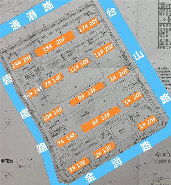 东三环龙腾1号地块有动静啦规划16幢1082户