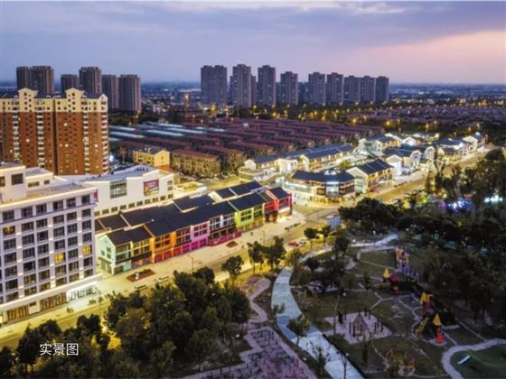 时代变迁中的滨江新城,繁华大境呈现!