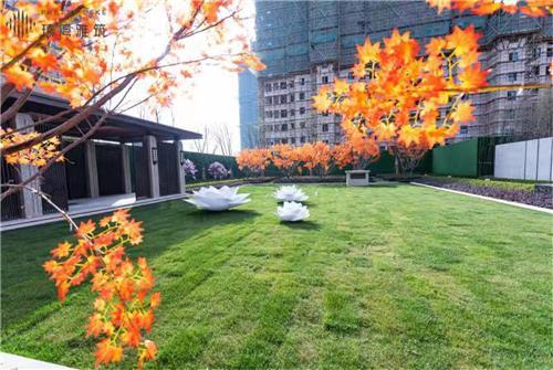 都会园林实景示范区盛大开放 重构世界想象