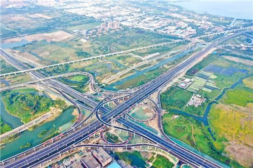 苏州G524高架桥相城段全线通车 常熟咫尺苏州又近一步