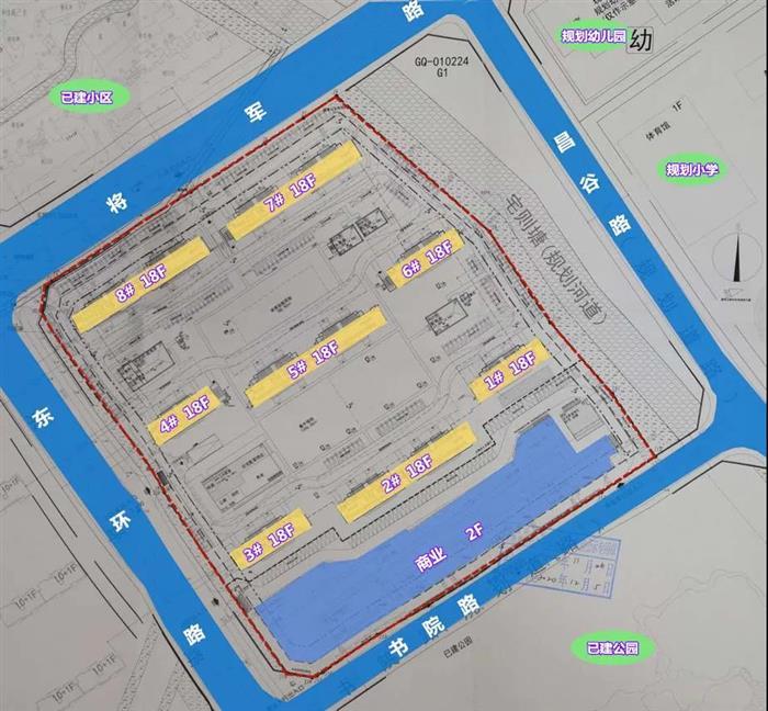8栋住宅 共816户丨梅李祥源地块批前公示出炉