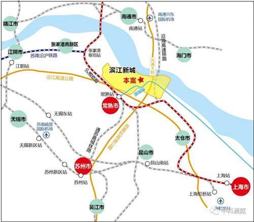 常熟最小户型来了 滨江新城中科澜庭网传户型曝光