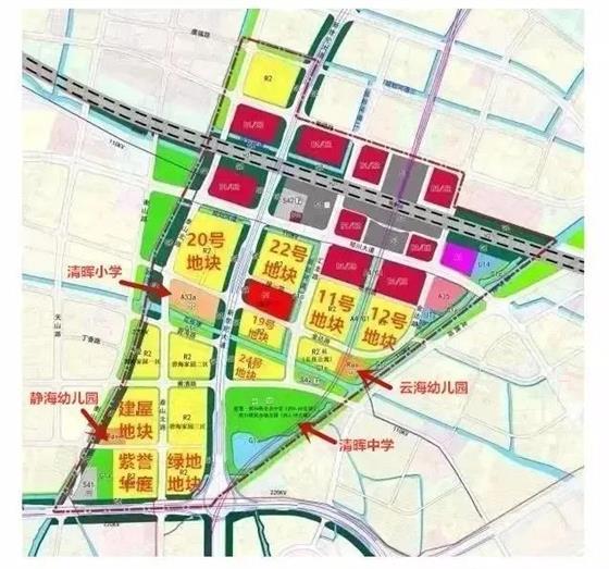 通沪铁路6月底开通运营 清晖小学批前出炉