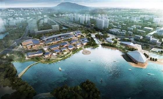 重磅动态!多位政府领导莅临琴湖小镇,共证2019A-009地块商业项目开工仪式!