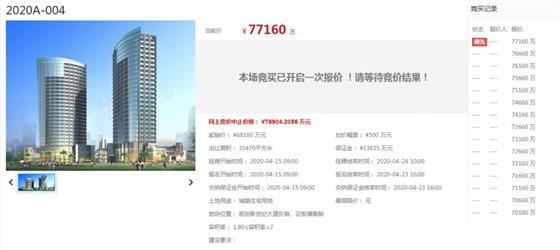 楼面价10888元/m2 新房企登陆城铁片区