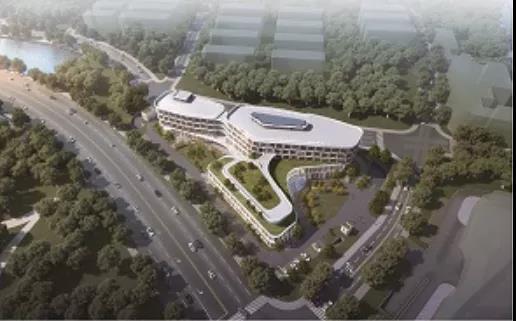2021年4月竣工丨琴湖小镇医院地块效果图出炉