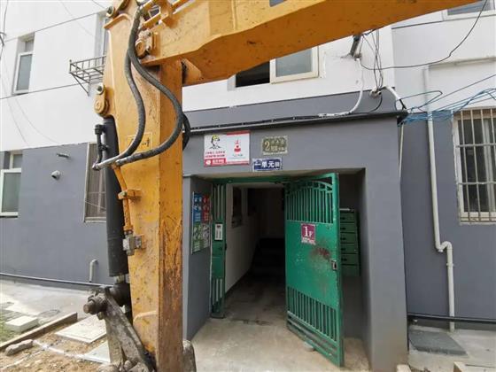 今天动工!常熟多层住宅加装电梯第一家