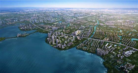 湖+CBD=?常熟高新区&中国金茂携手打造虞城湖居CBD