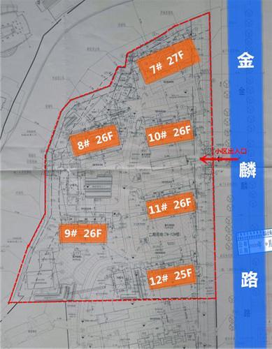 重磅:南部新城限价盘收官之作,90平以下占5成,规划共6栋