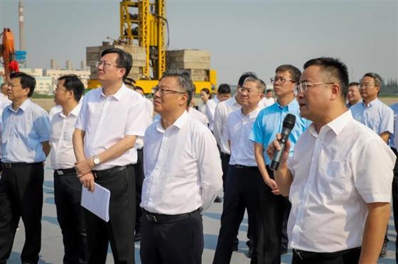 2020年市重点产业项目三季度集中开竣工在海虞举行