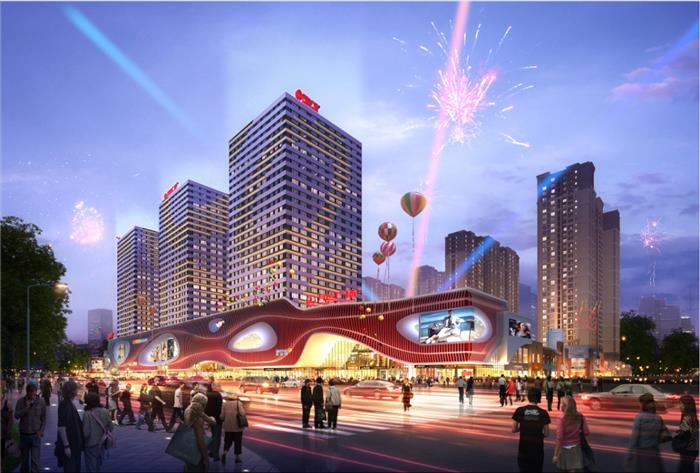 璀璨澜庭   城北再添利好,项目旁增设工人文化宫新地标